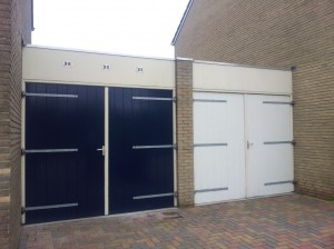 Dubbele garage Bedum